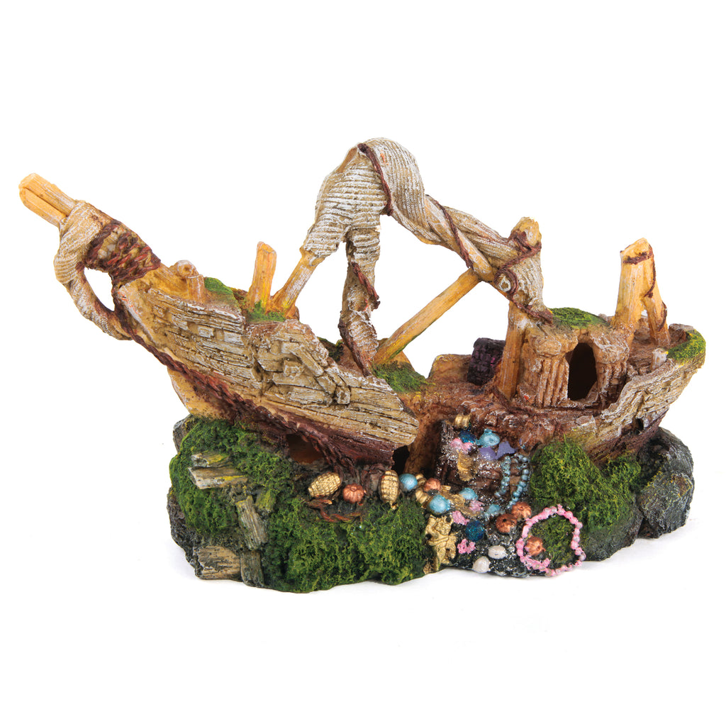Galleon With Treasure - Small - Kazoo Pet Co