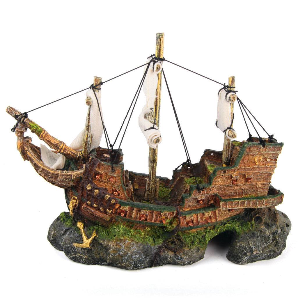 Galleon With Sails - Medium - Kazoo Pet Co