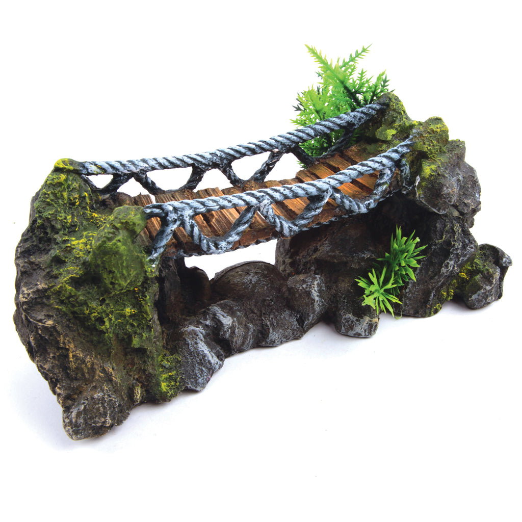 Rope Bridge With Plants - Medium - Kazoo Pet Co