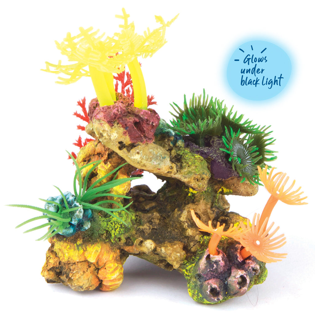 Soft Coral With Plants - Mini - Kazoo Pet Co