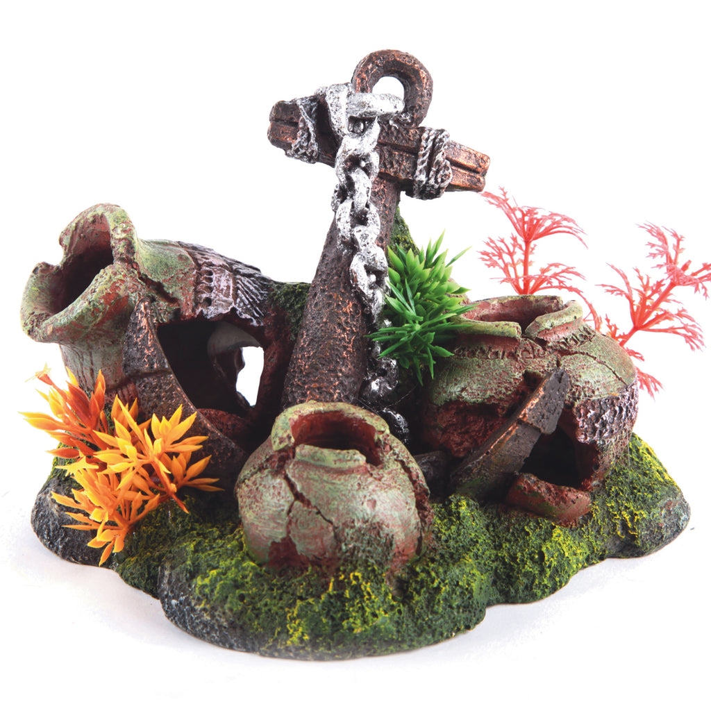 Anchor With Plants - Small - Kazoo Pet Co