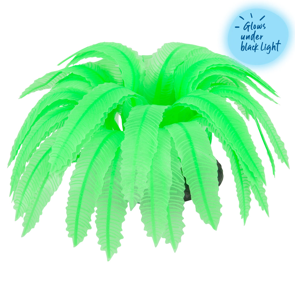 Silicone Green Fern - Medium - Kazoo Pet Co