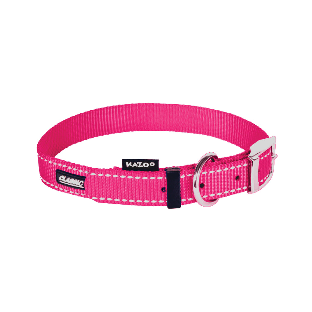 Classic Collar - Pink - Kazoo Pet Co