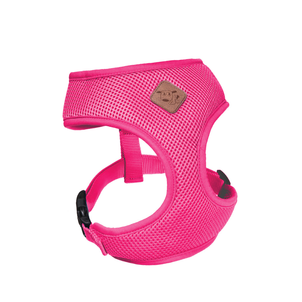 Classic Soft Walking Harness - Pink - Kazoo Pet Co