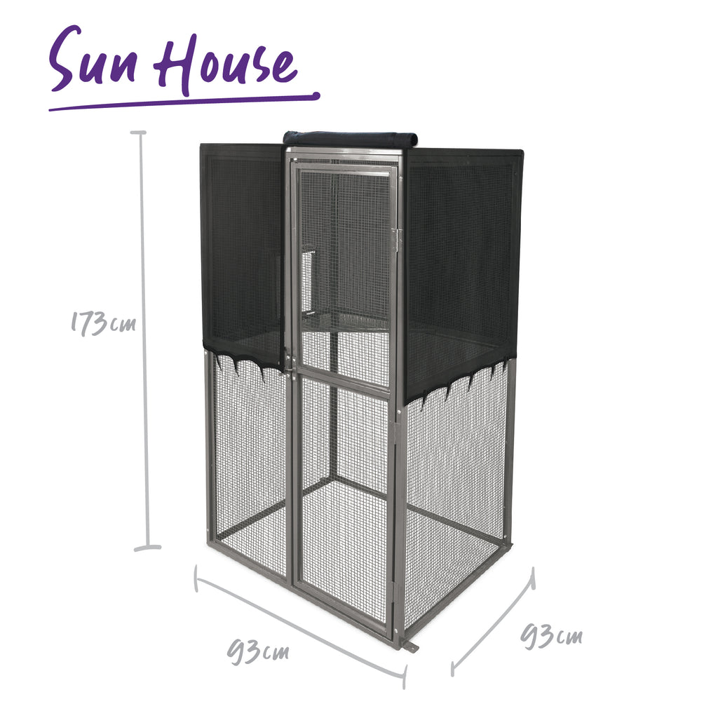 Outdoor Cat Home - Sun House - Kazoo Pet Co