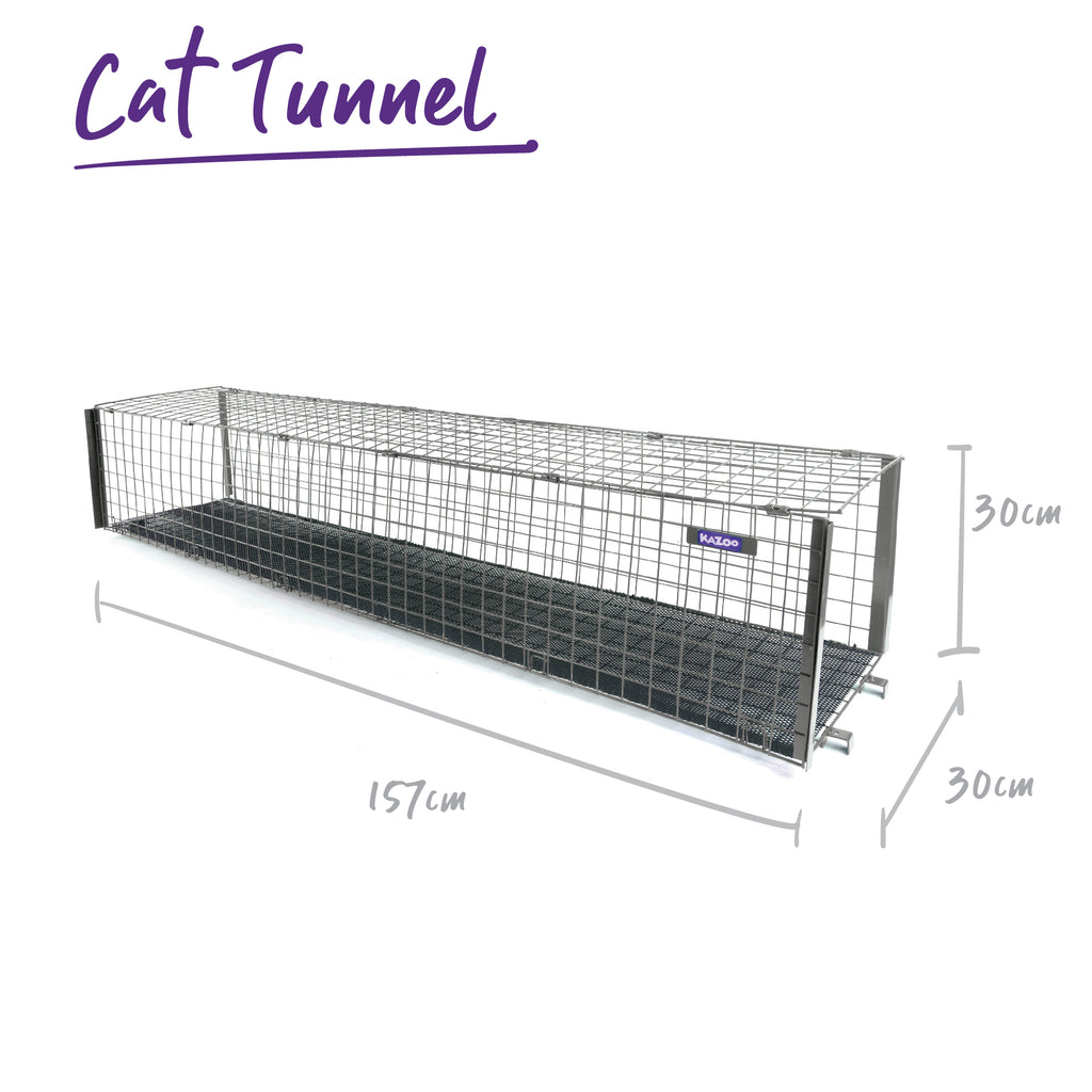 Outdoor Cat Home - Tunnel - Kazoo Pet Co