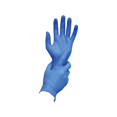 Ambitex N400 Series Powder Free Blue Nitrile Gloves (1 Box)
