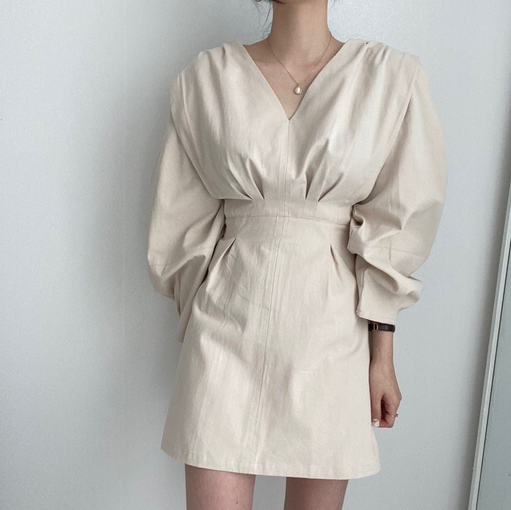 Olivia Bubble Sleeve Dress