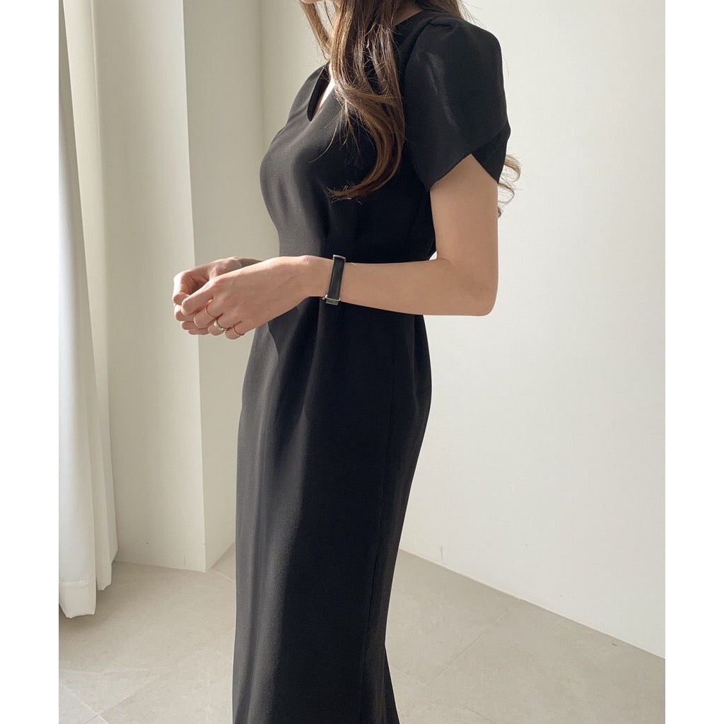 Aria A-Line Slim Fit Dress