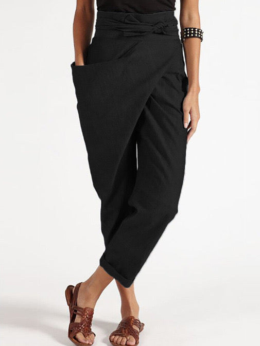 Camila Ribbon Side Pants