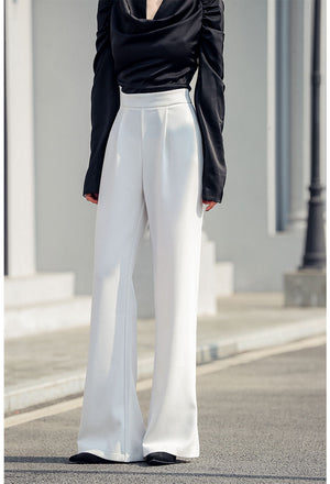 Open image in slideshow, Sadie  Straight Long Pants