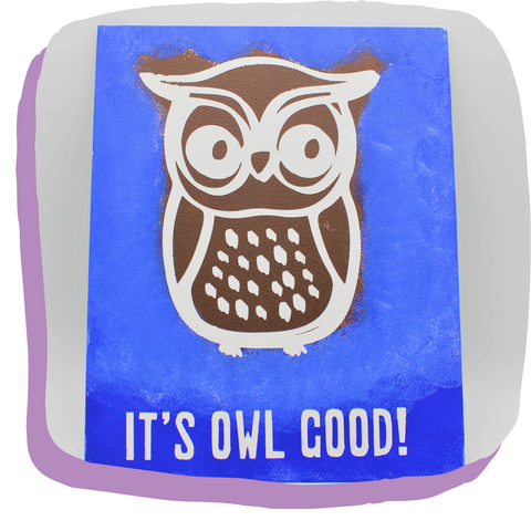 It's Owl Good! Painting