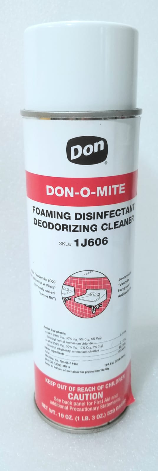 Foaming Disinfectant Spray
