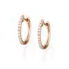 Starlight Diamond Hoops, Minis | more gold options