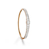Skyline Diamond Baguette Bangle
