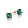 District Diamond Pyramid Earrings | more options