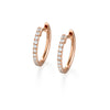 Starlight Diamond Hoops | more gold options
