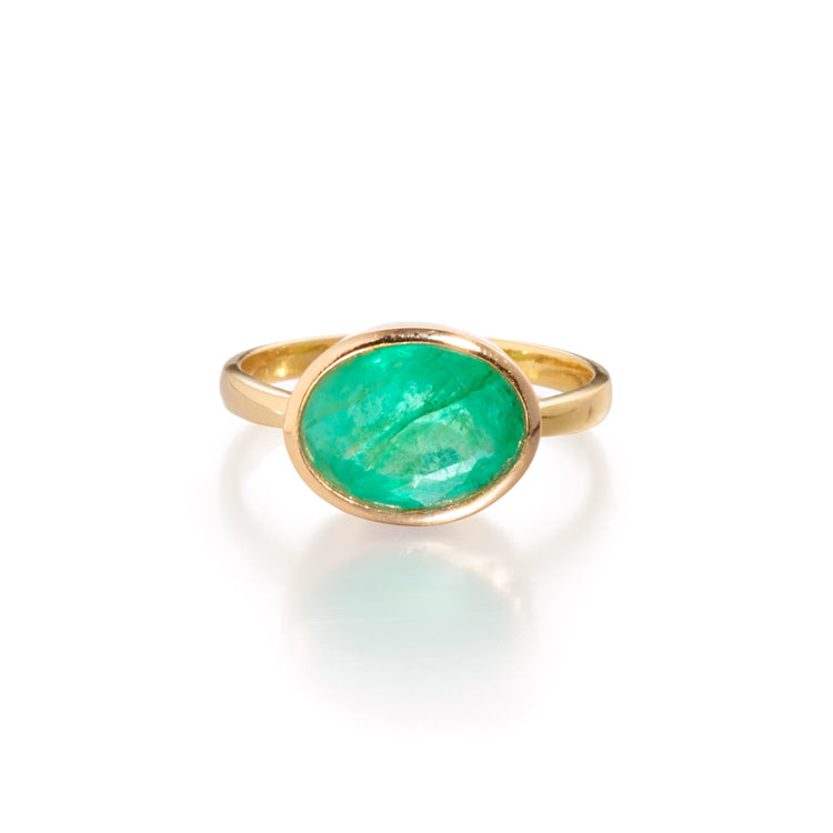 Gemstone Pinky Ring