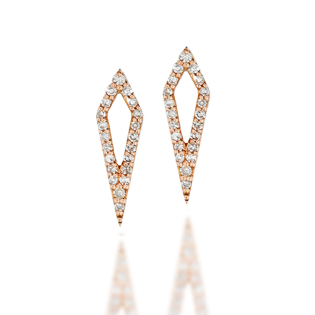 Private Sale Kite Diamond Earrings