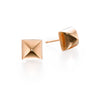 Gold Pyramid Earrings | more gold options