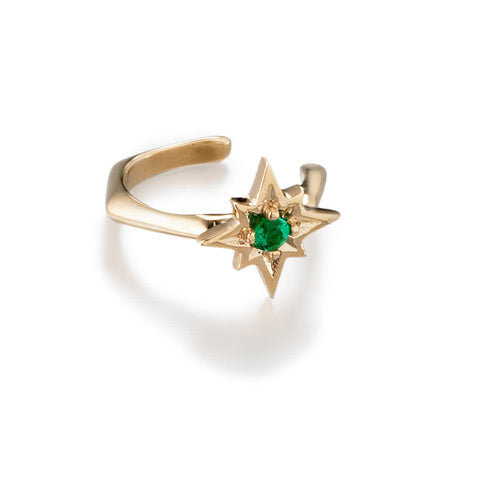 North Star Ear Cuff | more gold & gem options