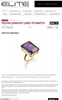 NoLita Cocktail Ring | Citrine & Amethyst