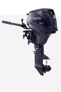 Tohatsu 20HP Electric start, Tiller control, Standard Shaft