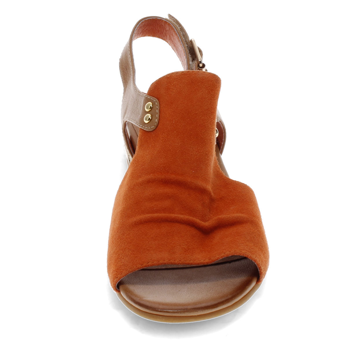 ORANGE-TAN SUEDE | Front