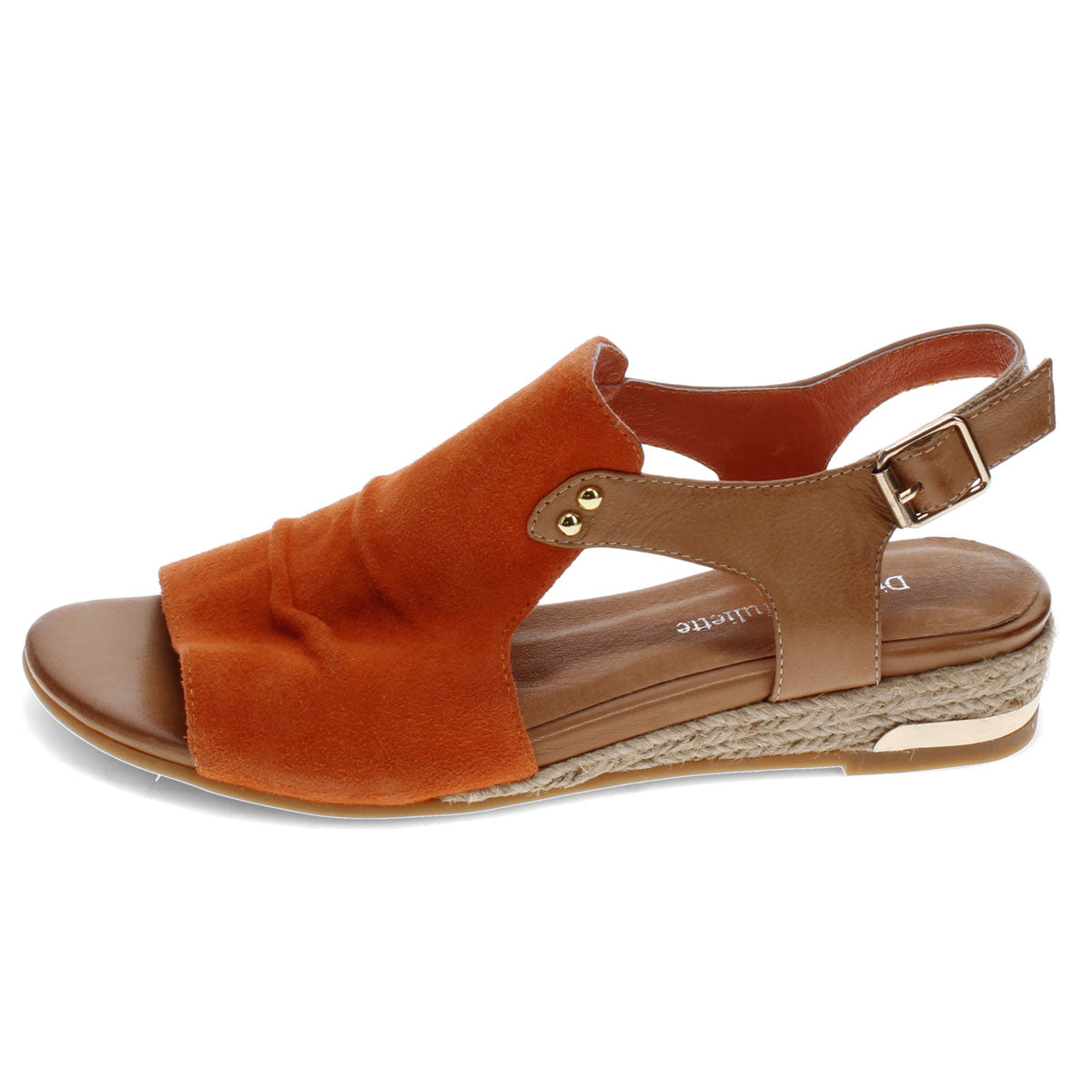 ORANGE-TAN SUEDE | Left