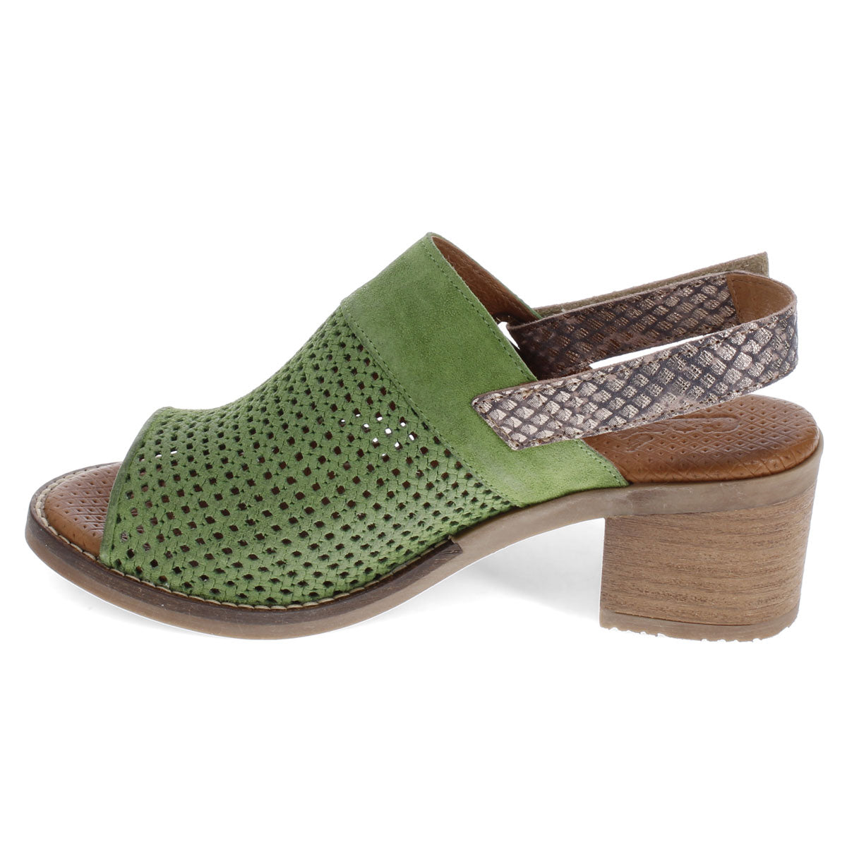 GREEN SUEDE | Left