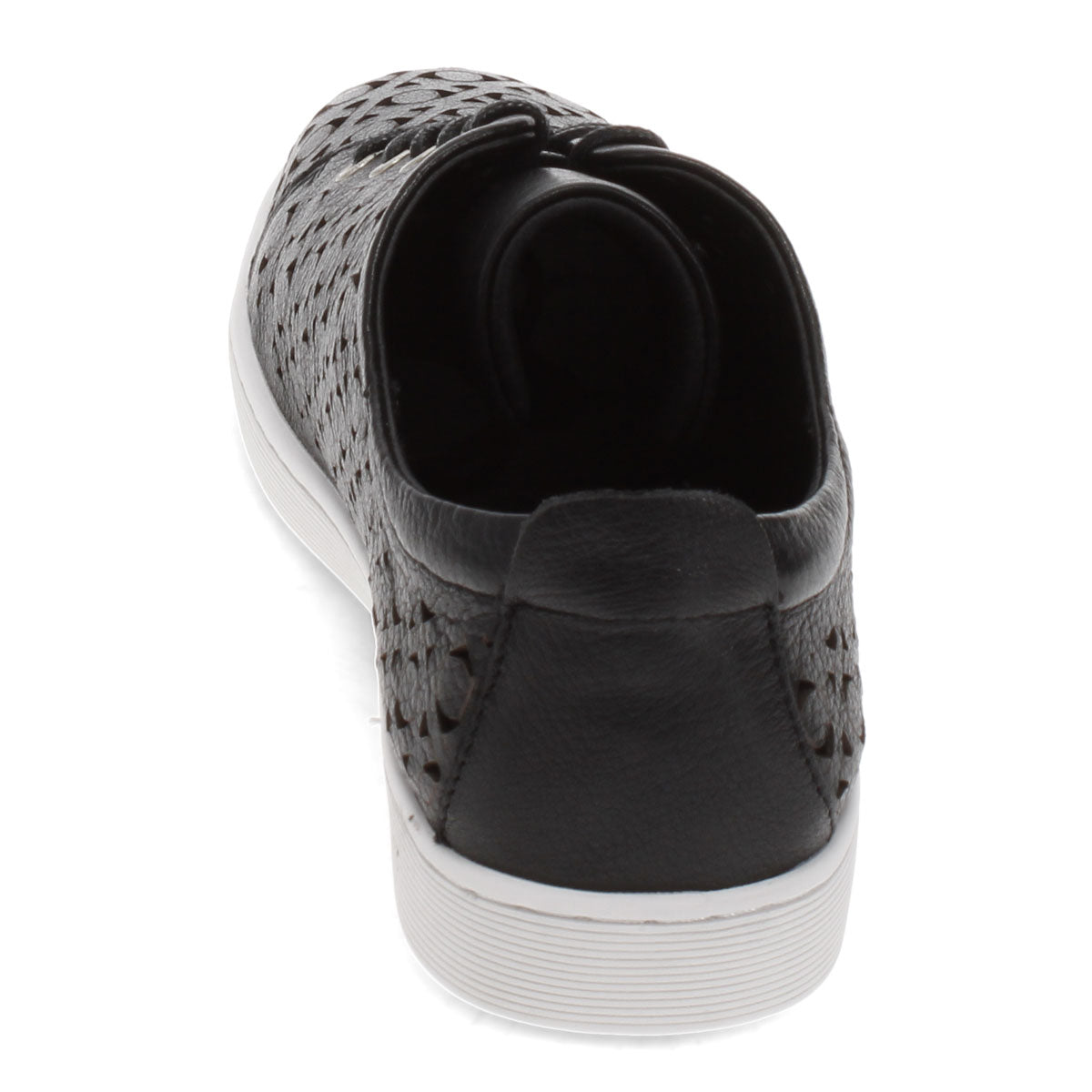 BLACK-WHITE SOLE | Rear