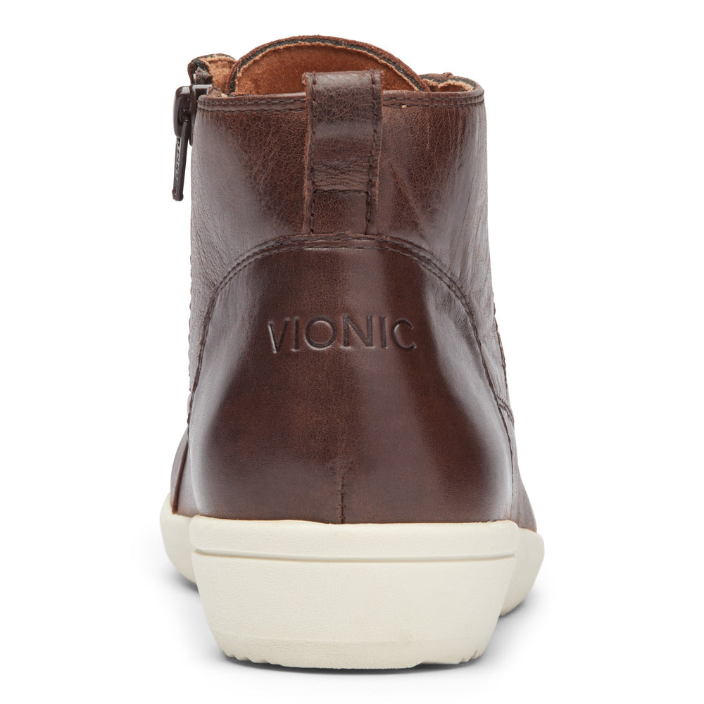 BROWN LEATHER | Rear