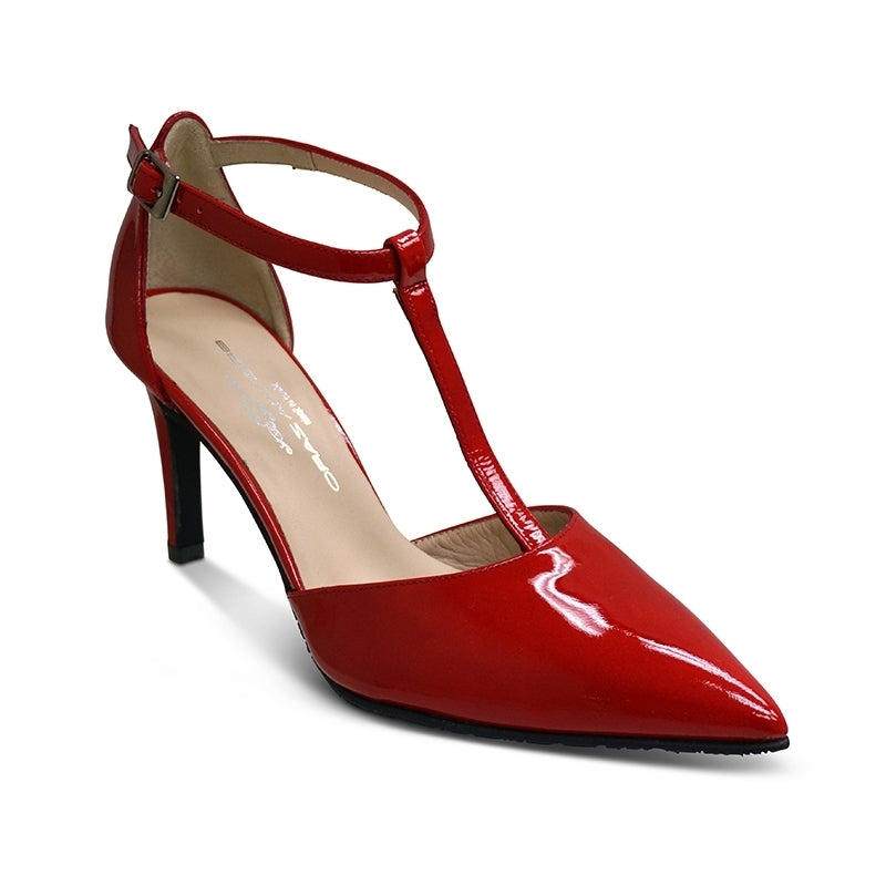 RED PATENT (#6646)