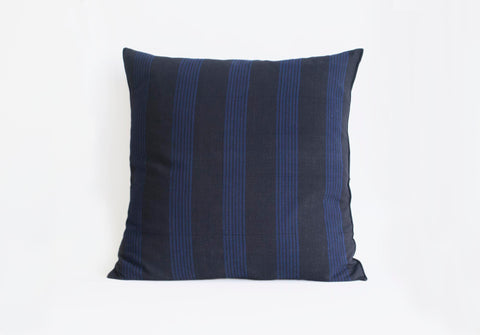 Tensira Pillow Black/Blue Stripe