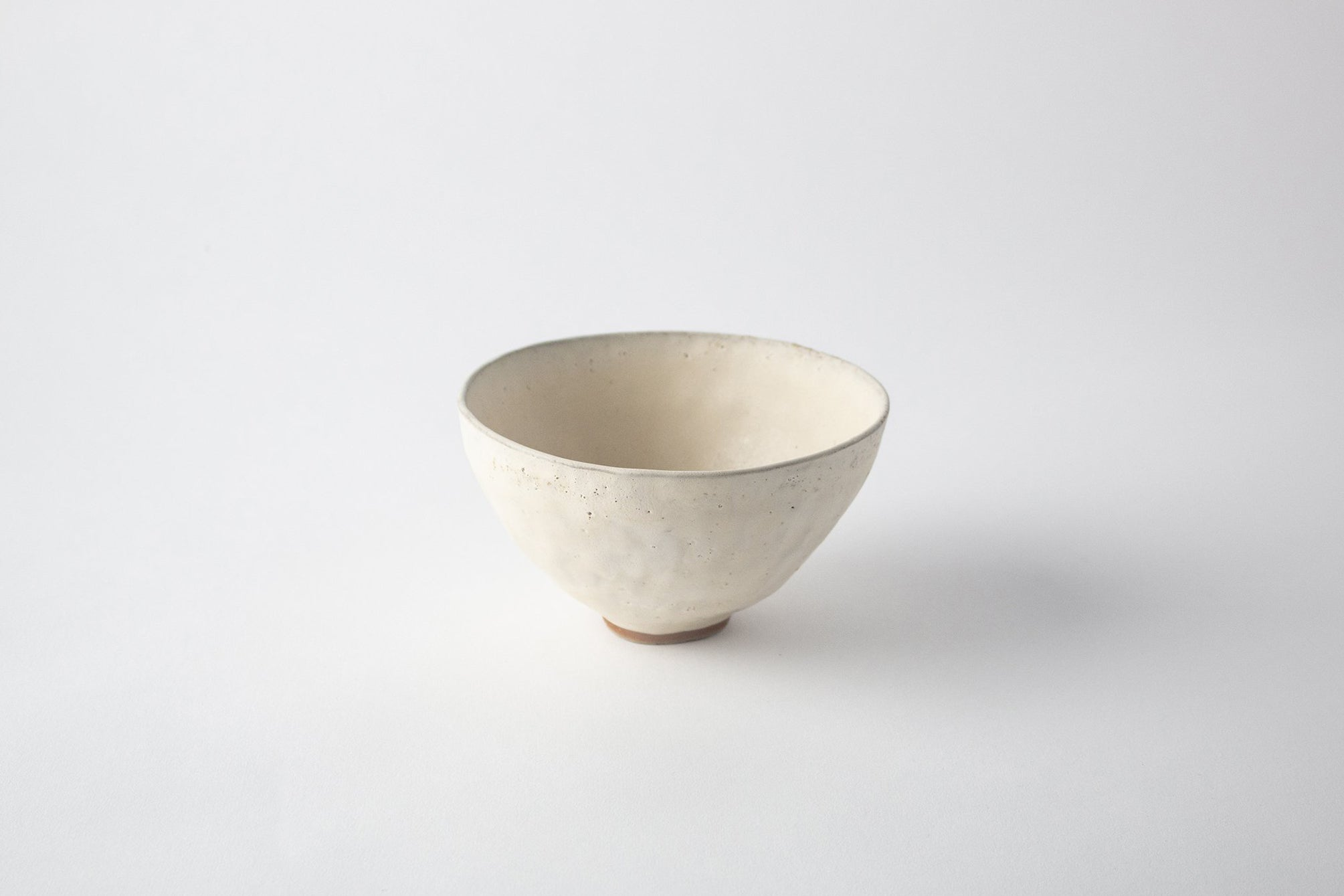Ivory with Green Rim Bowl