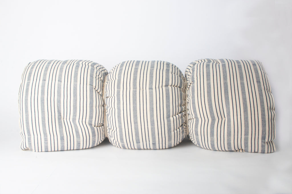 Navy Stripe Mattress Roll