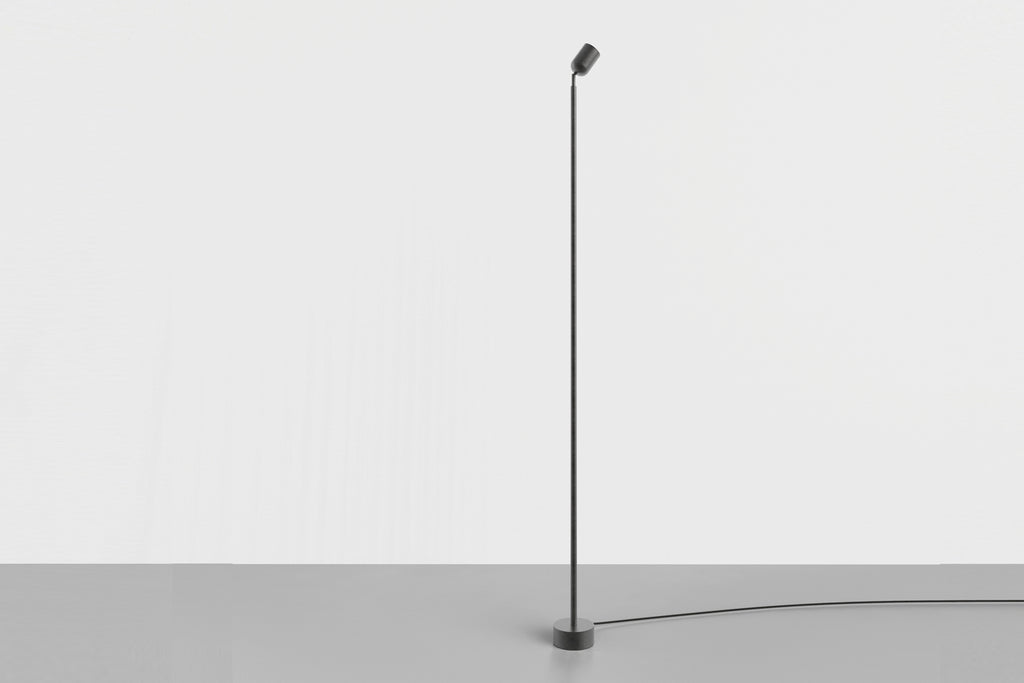 Spot Floor Lamp Large Black