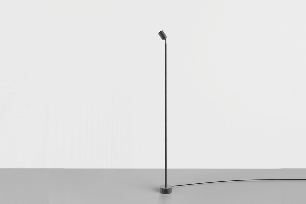 Spot Floor Lamp Medium, Black