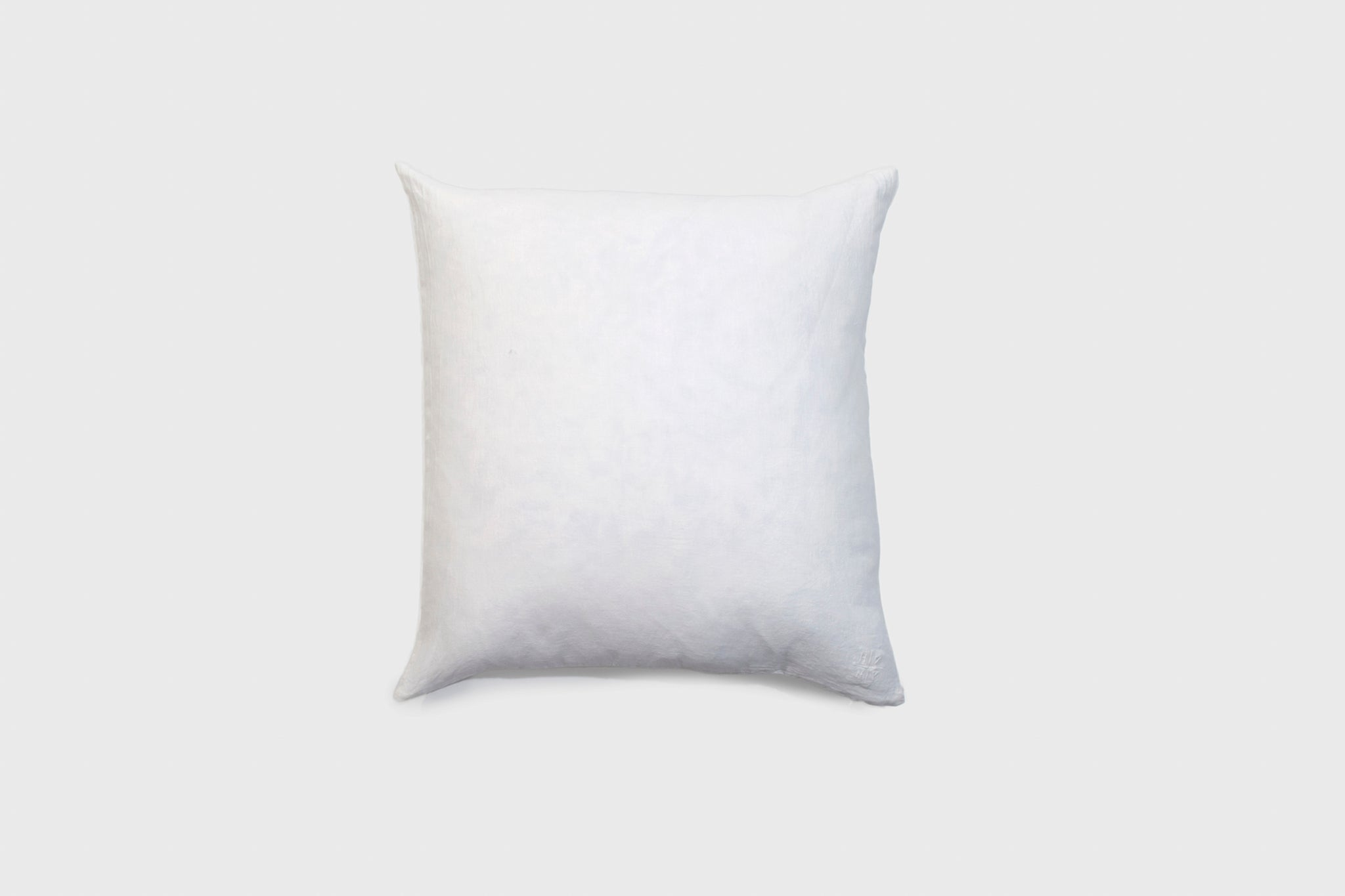 Simple Linen Pillow 22 x 22 White
