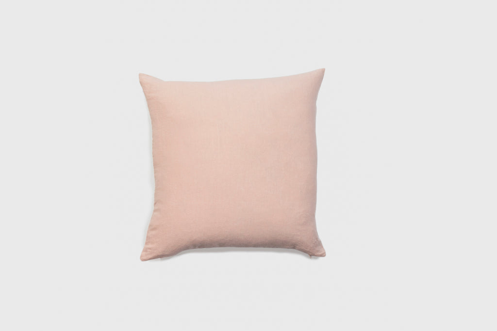 Simple Linen Pillow 22 x 22 Blush