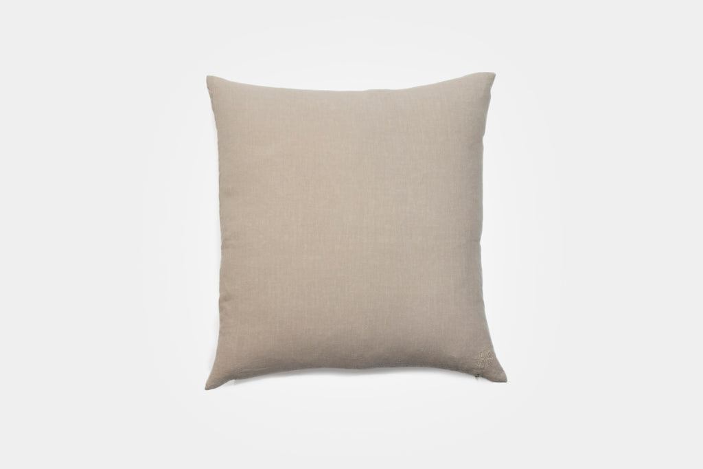 Simple Linen Pillow 22 x 22 Flax
