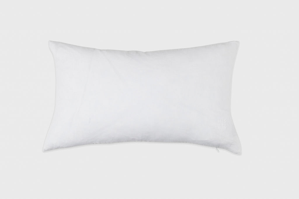 Hawkins Simple Linen Pillow 22 x 12 White