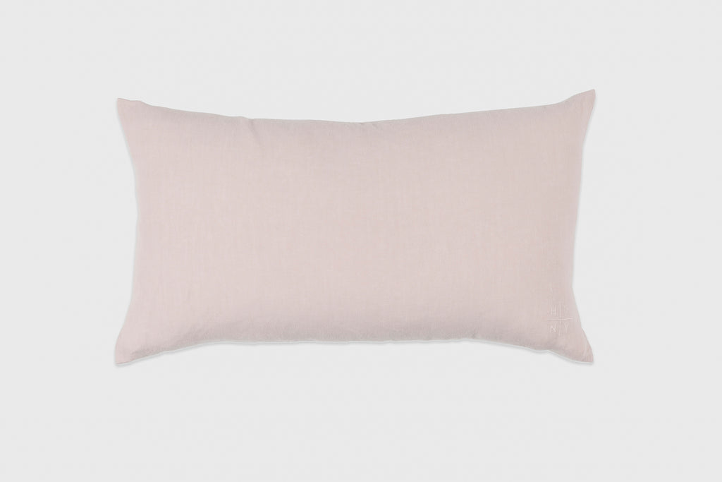 Simple Linen Pillow 22 x 12 Petal