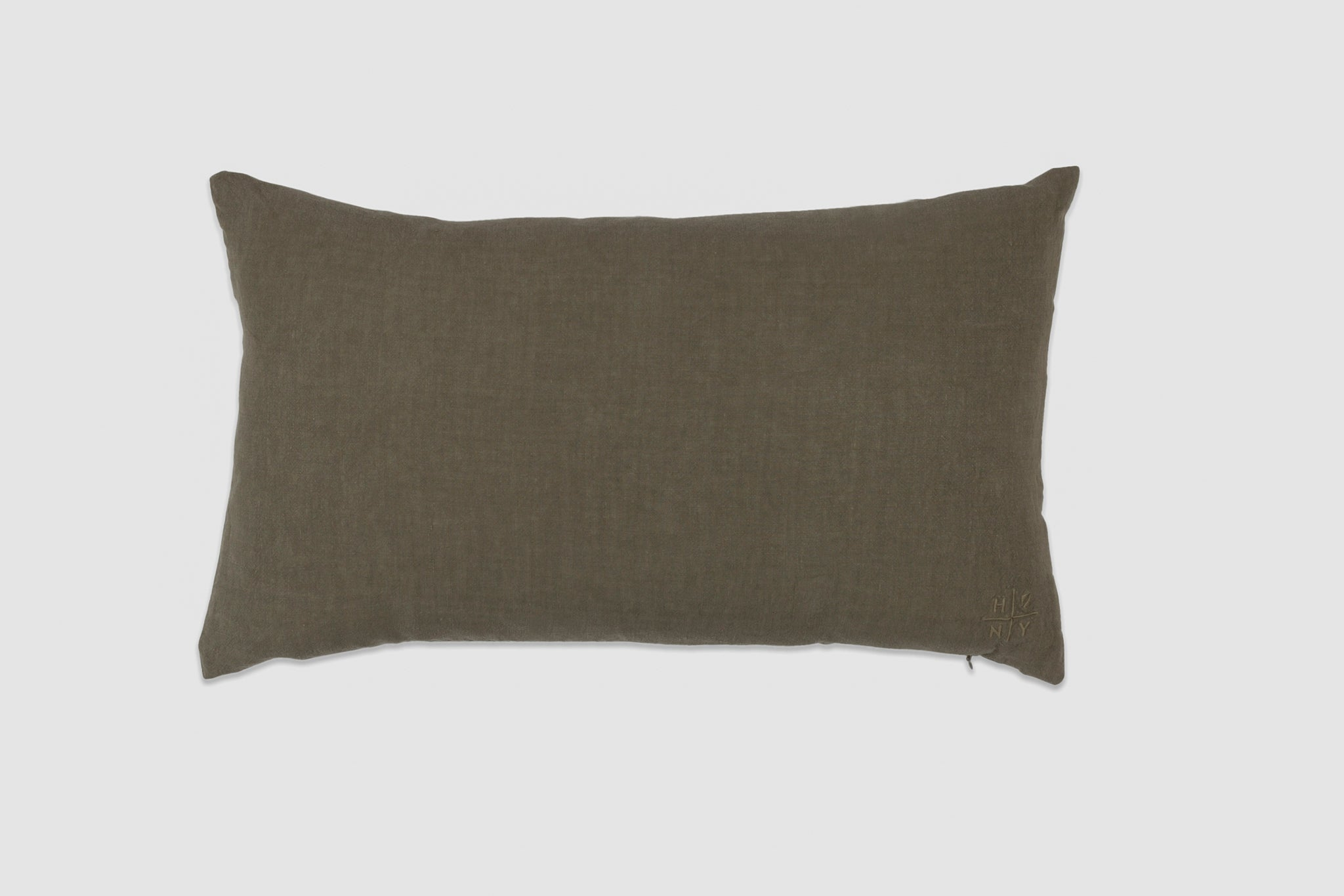 Simple Linen Pillow 22 x 12 Olive