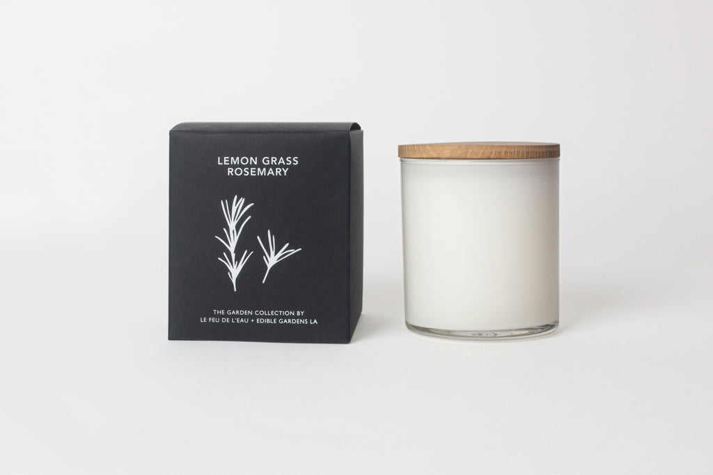 Le Feu Lemon Grass + Rosemary Candle