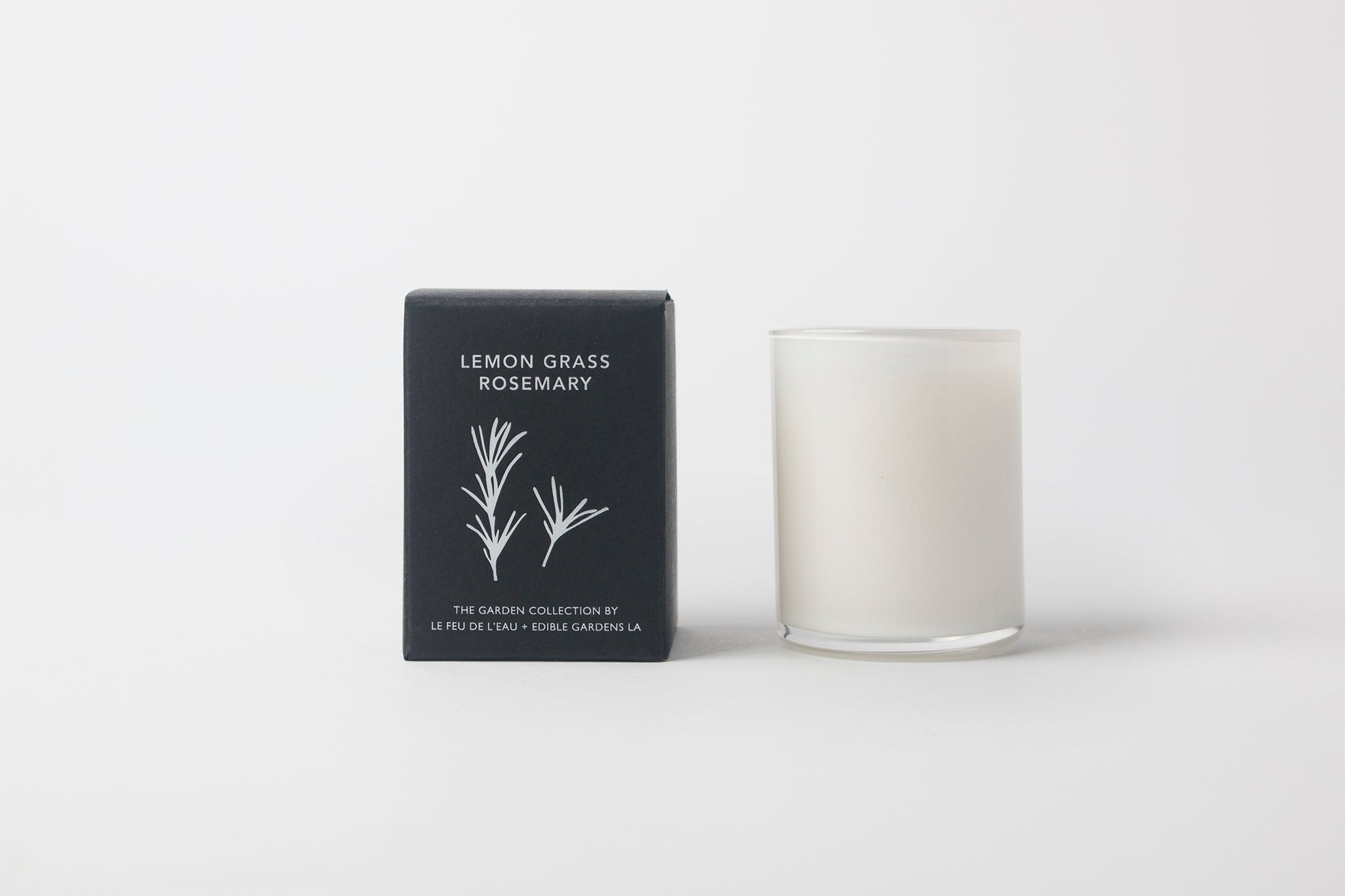 Le Feu Lemon Grass + Rosemary Votive