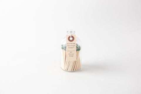 Apothecary Matchstick Bottle