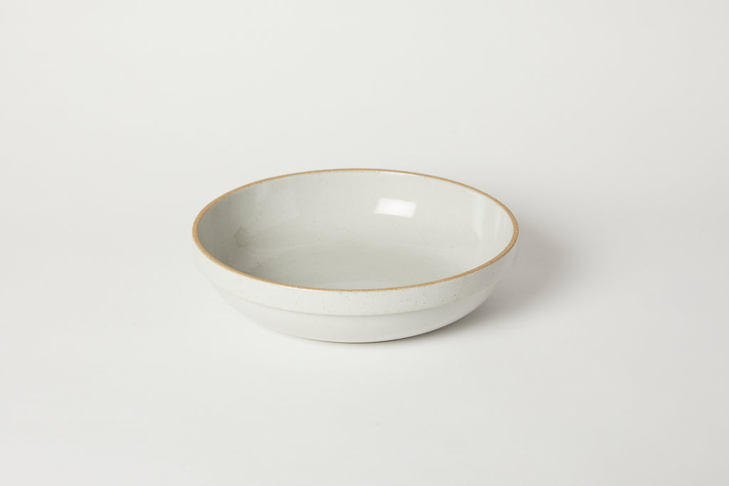 Gloss Grey Large Rounded Bowl