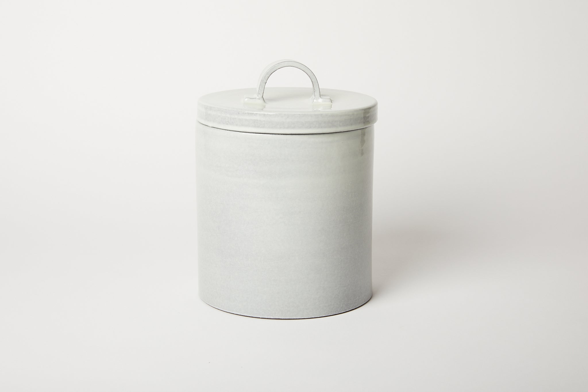 Dove Grey Canister Large