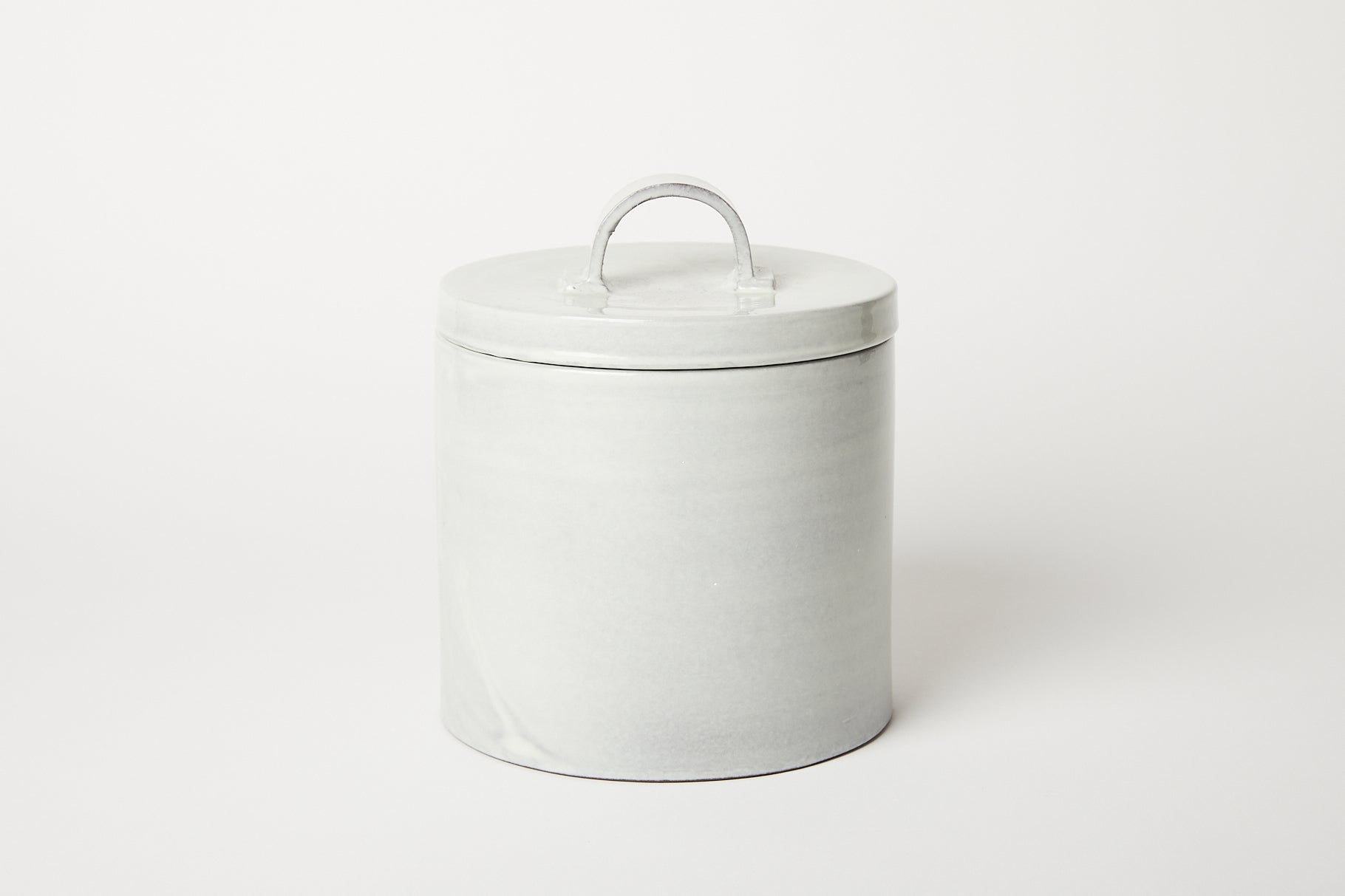 Il Buco Vita Dove Grey Canister Medium